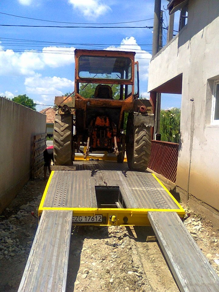 platforma tractor 1